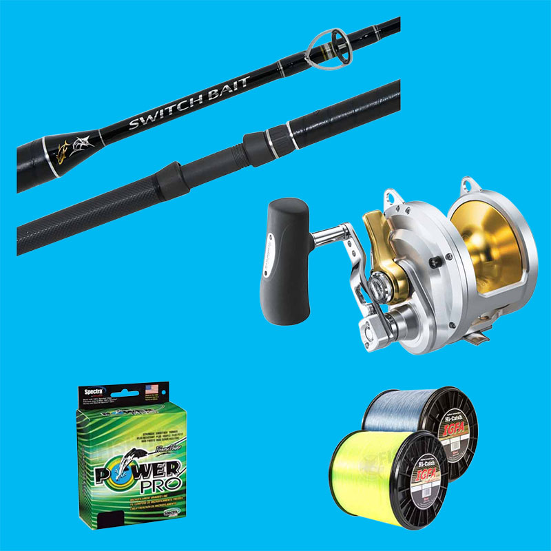 Blue Water Rod & Reel Combos
