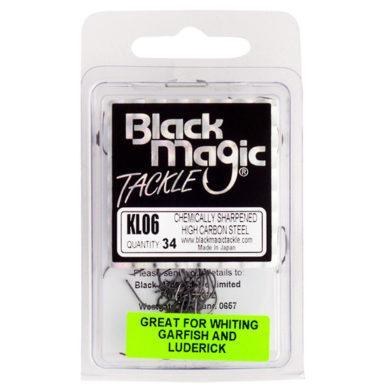 Black Magic KL Hook 6 34pcs