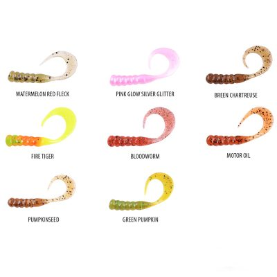 Berkley Powerbait Ribbontail Grub Range