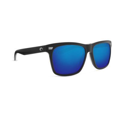 Costa Aransas Matte Black Blue Main