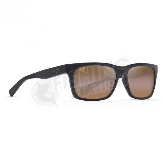 Maui Jim Boardwalk Matte Black H539-2M Front Left Side