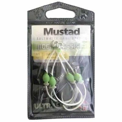 Mustad Slow Pitch Jig Assist Hook Packaging