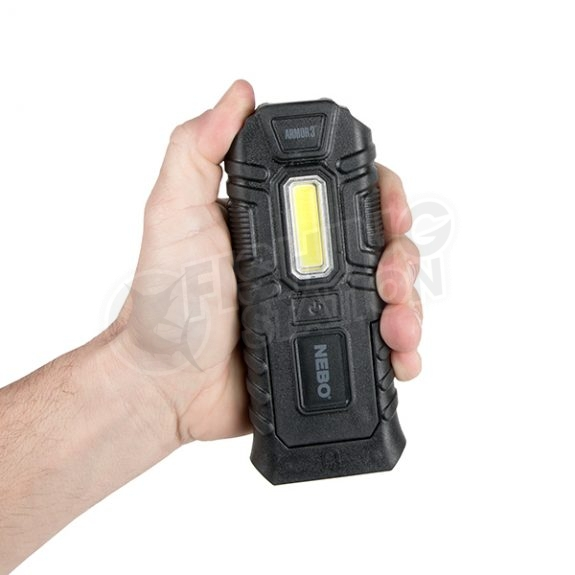 Nebo Armour 3 Indestructible Work Light Hand Size