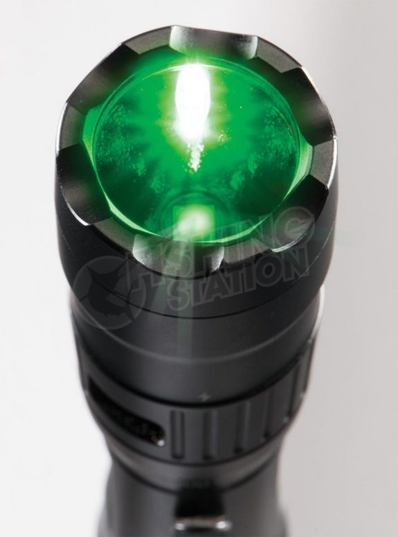 Pelican 7600 LED Tactical Flashlight Green Light