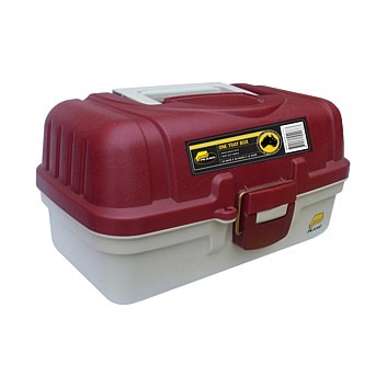 Plano One Tray Tackle Box 6101 (AU) Closed