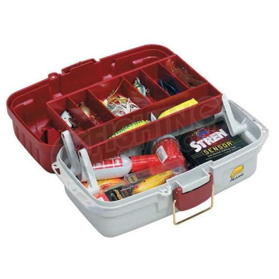 Plano One Tray Tackle Box 6101 (AU) Open