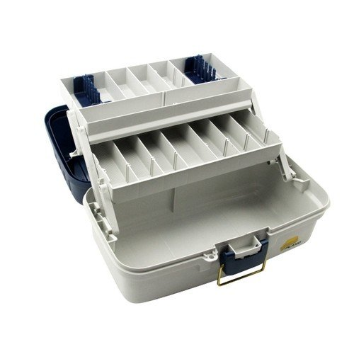 Plano Two Tray Tackle Box 6102 (AU) Open