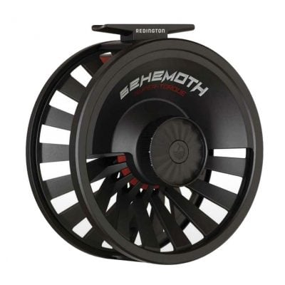 Redington Behemoth Fly Reel Black Front