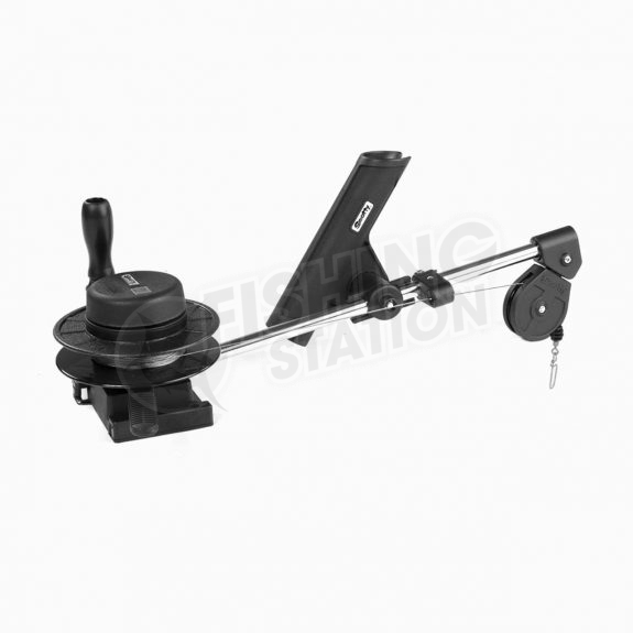 Scotty 1050 Compact Manual Downrigger Depthmaster 23 Side