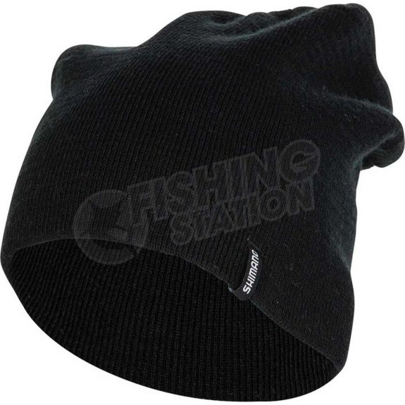 Shimano Slouch Beanie Black Side Under