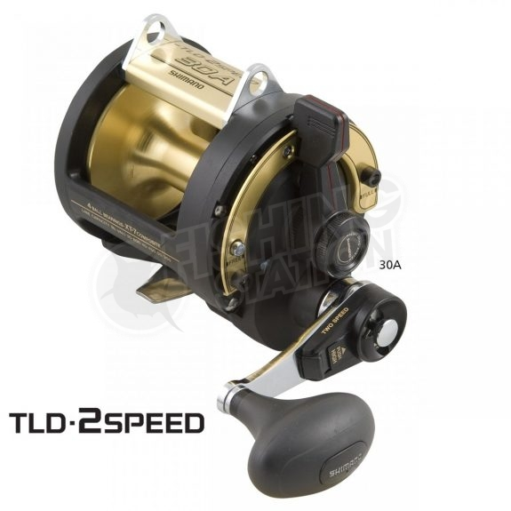 Shimano TLD Triton Lever Drag 2 Speed Overhead Reel 30A