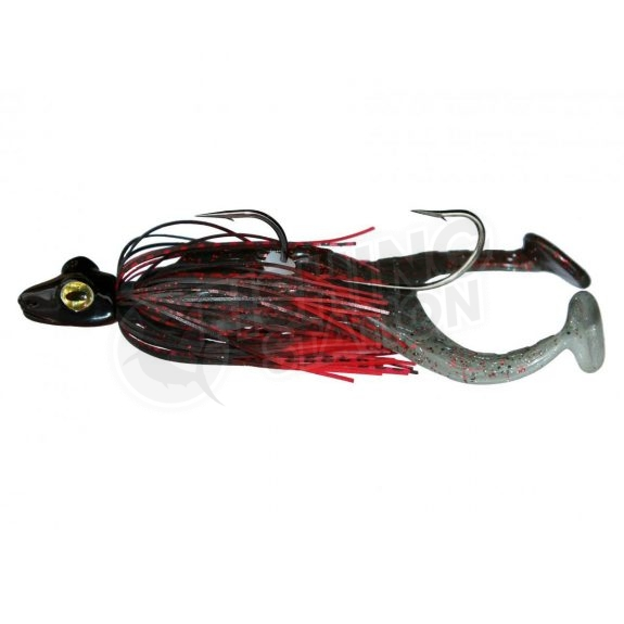 TT FroggerZ Snr Spinnerbait Red Black