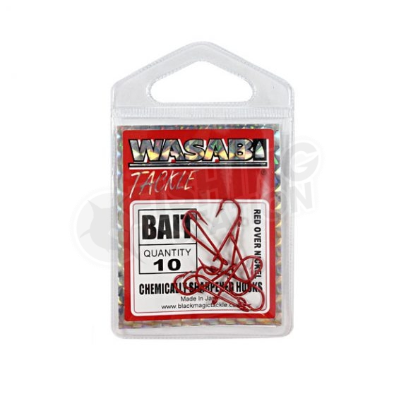 Wasabi Bait Hooks Packaging Small