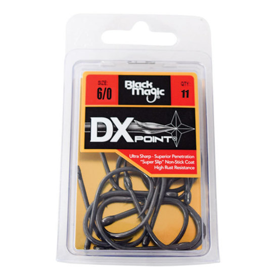 Black Magic DXS PTFE Coated Hook - Eco Pack 6-0 11pcs