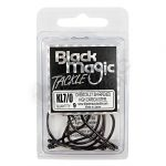 Black Magic KL Hook 7-0 9pcs