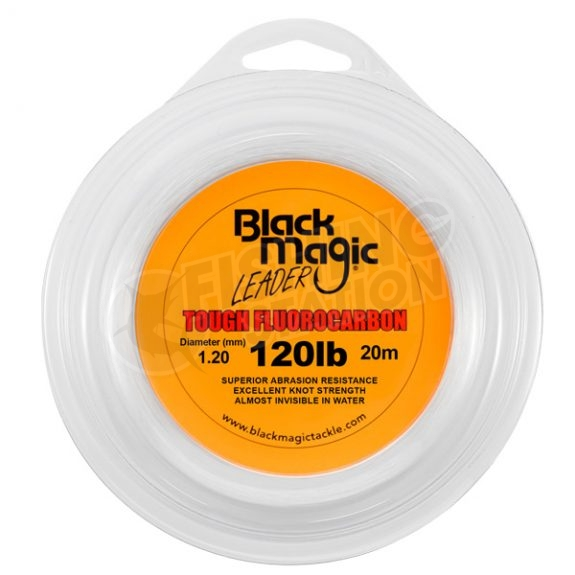 Black Magic Tough Fluorocarbon 120lb